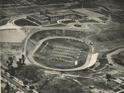 Aerial photo of Santa Barbara High School