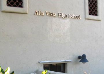 Alta Vista Alternative High School building