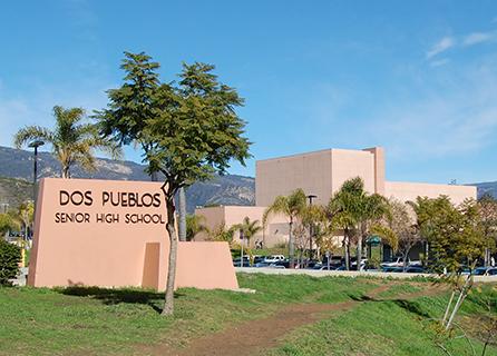 Dos Pueblos High School building