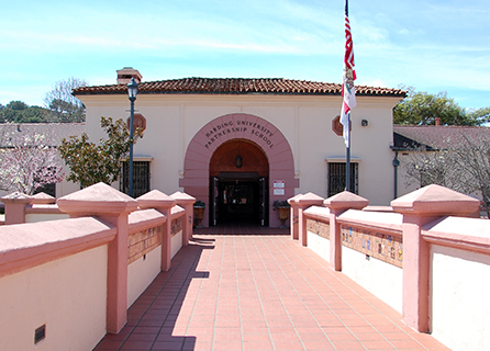 Harding University Partnership School building