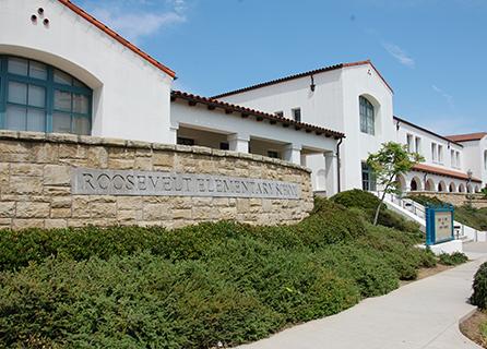 Roosevelt Elementary School building