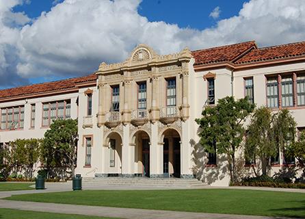 Santa Barbara High School building