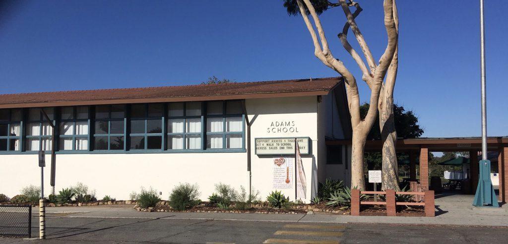 Adams Elementary School building