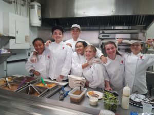 SMHS Culinary students
