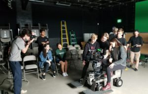 MAD Academy filming
