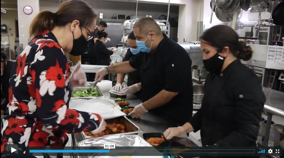 Hilda with Kitchen Crew